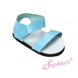 Turqouise Strappy Sandals